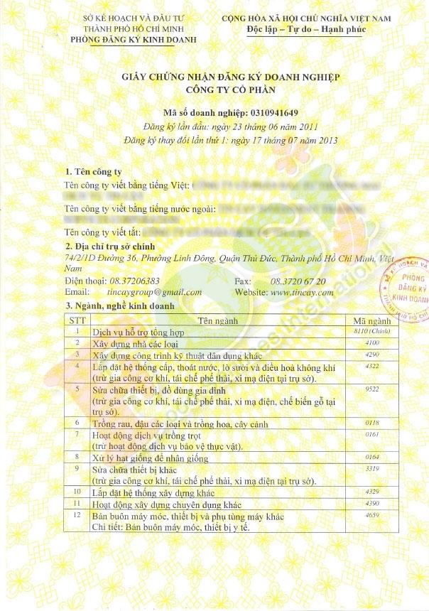 Địa chỉ thay đổi giấy phép kinh doanh quận Đức Hòa - Đa Lộc Tài uy tín - chất lượng - giá rẻ